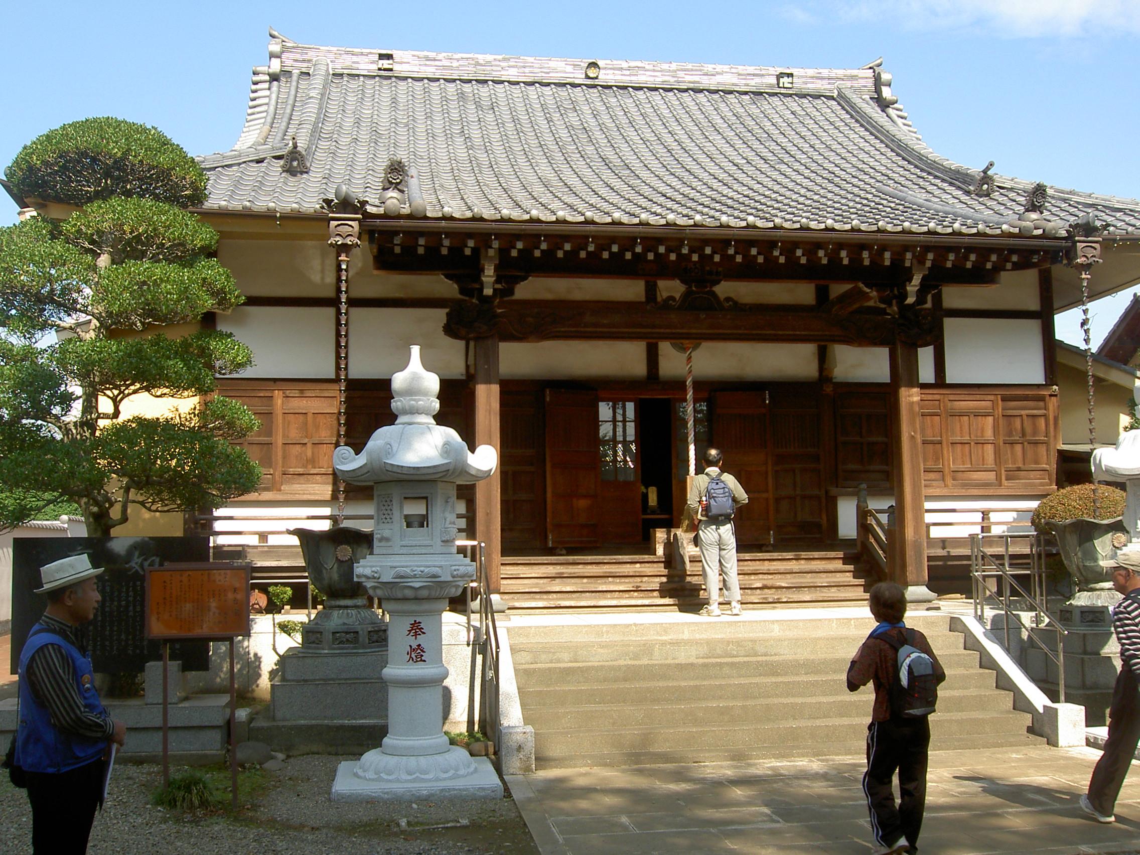 「JR ウォーク」で 桶川の神社・寺院(六阿弥陀)めぐり